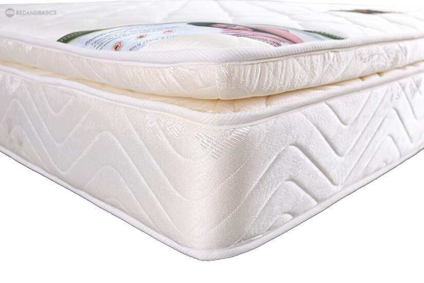 """The 3"""" pillowtop is designed to deliver luxurious comfort. Sleep feeling like you are getting a restful night's sleep in a hotel and wake up feeling fresh and recharged."""
