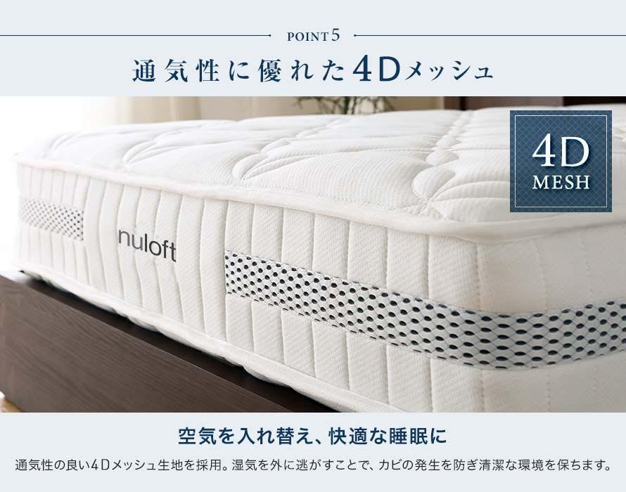 Air permeable 4D Mesh
