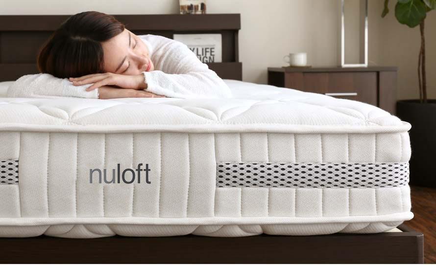 Nuloft air permeable mattress