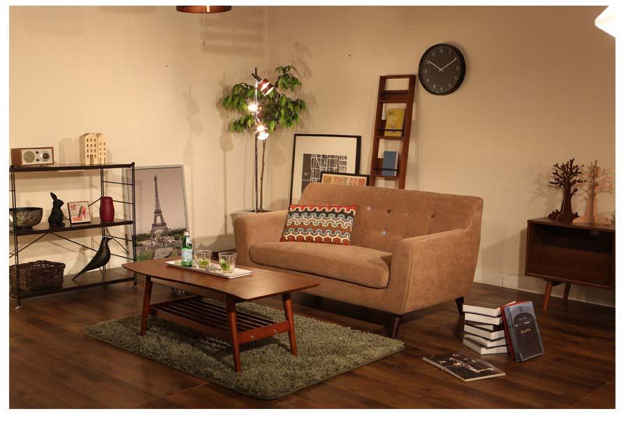 The Alba sofa in a scandinavian living room shoot.