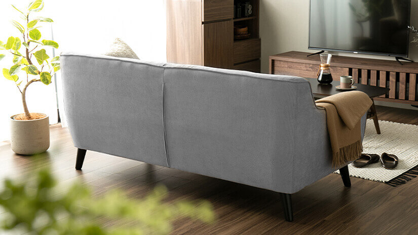 Designed to ensure the sofa looks presentable at all angles.