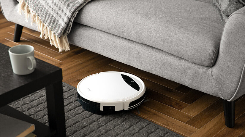 The legs are 14cm tall. Allows for easy cleaning even for robot vacuum cleaner.