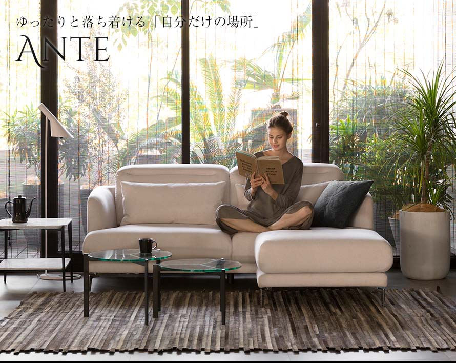 The luxurious Ante 3 Seater Sofa.