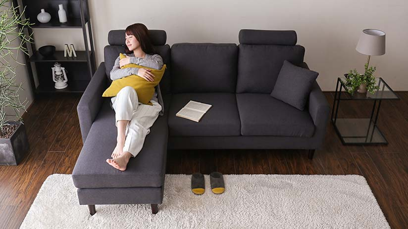 Great for daytime naps, stretch your legs and recline on the couch.