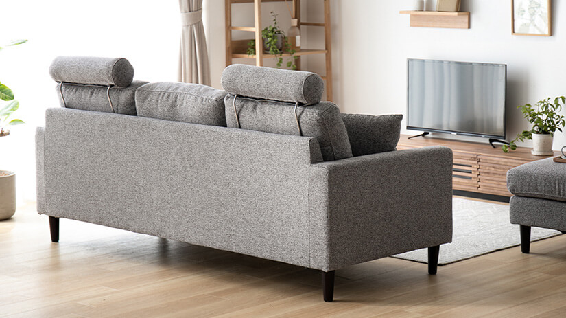 Designed to ensure sofa is presentable in every angle.