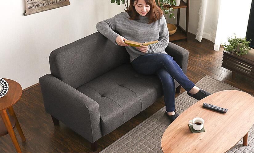 Plump high density foam cushions guarantee a great lounging experience.