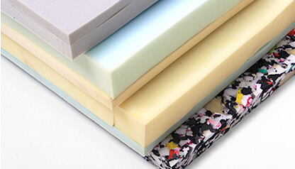 Cushions are made with urethane foam. This increases durability and reduces sagging.