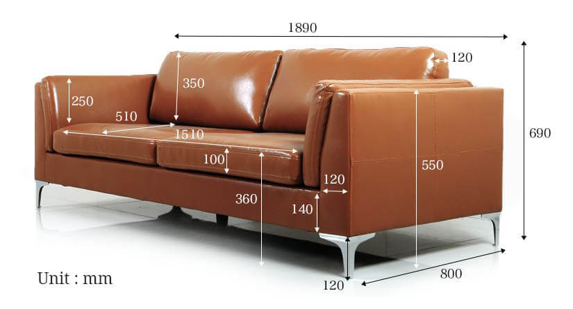 The dimensions of the Forma 3 seater sofa exclusive to bedandbasics.sg. Buy living room furniture and sofas in Singapore (SG) online today!