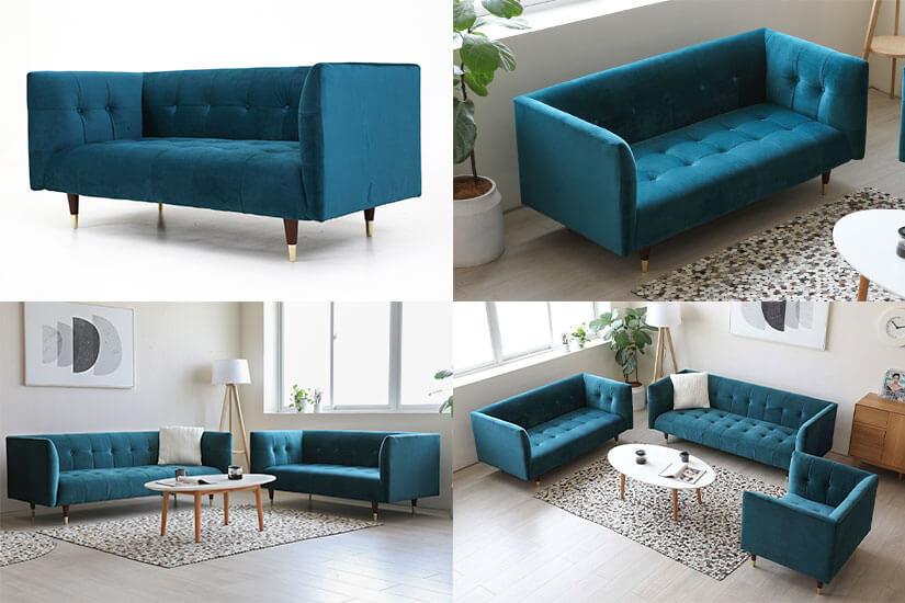Turquoise Velvet