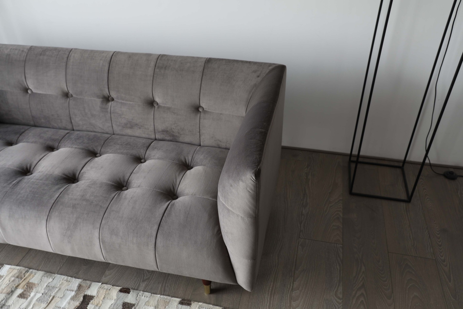 Clean lines and firm yet agreeable armrests will make a lasting impression.