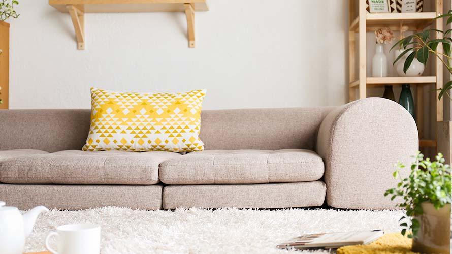Sit back and stretch your legs, this sofa can help improve your sitting posture as it encourages you to sit more upright.