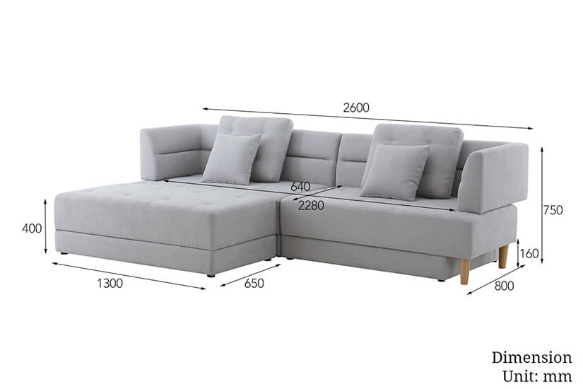 Bedandbasics has the best collection of Storage Sofa Beds in Singapore at factory direct prices!