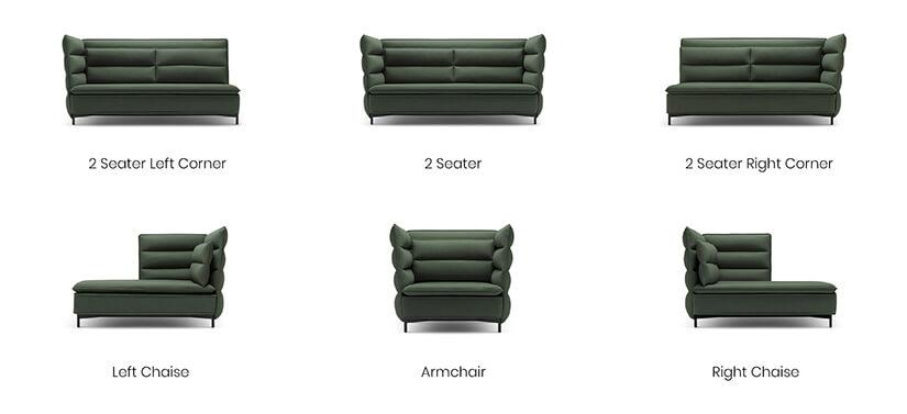 Halfmoon Bay Sofa Living Room