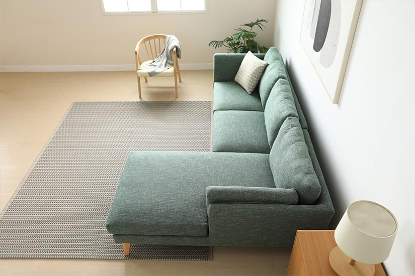 The Hansford L-Shaped Sofa is fantastic at maximising untapped corner spaces.