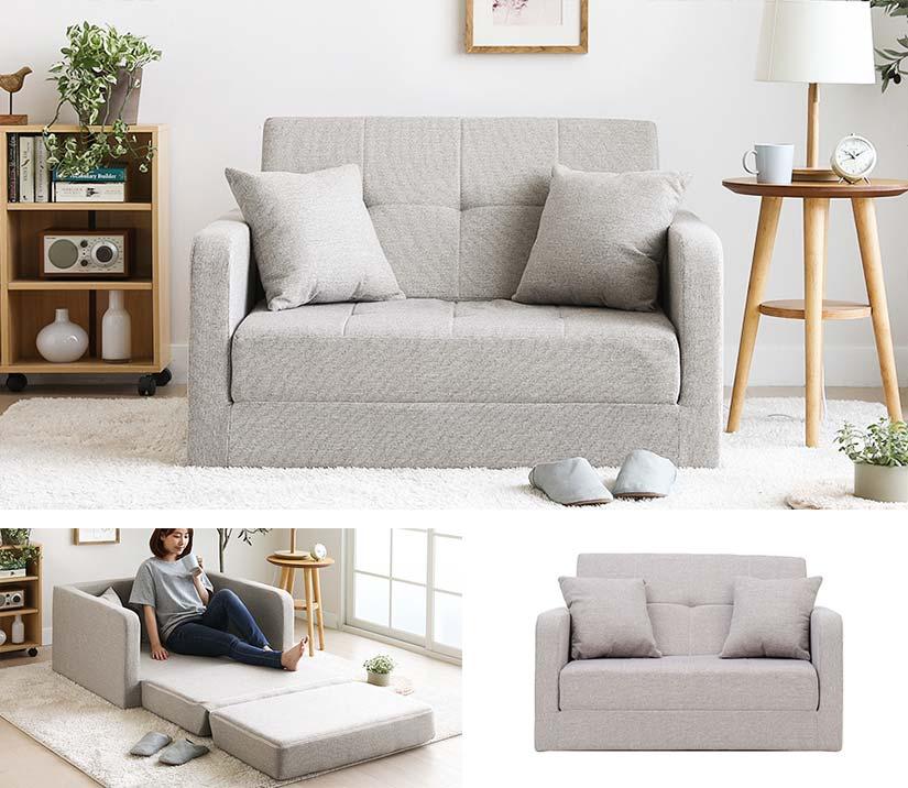 Hisaki Floor Sofa Bed Bedandbasics