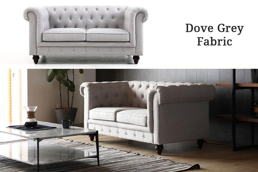 Dove Grey Fabric