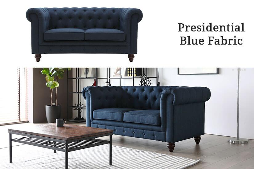 Presidential Blue Fabric