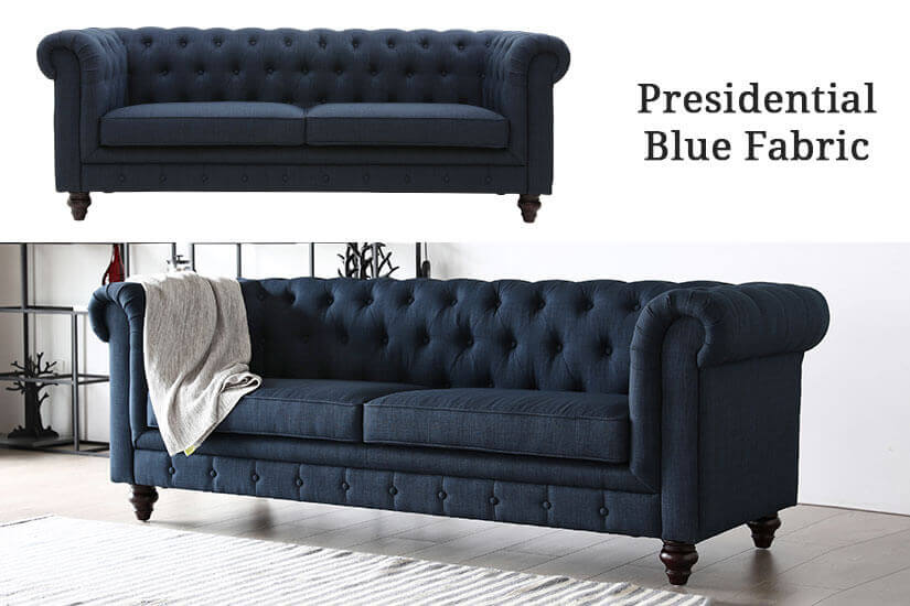 Presidential Blue Fabric