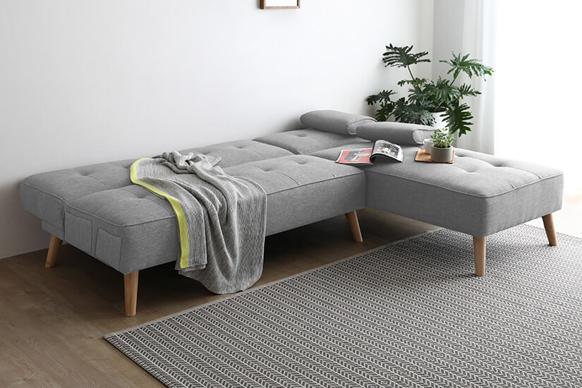 Perfect for lounging.