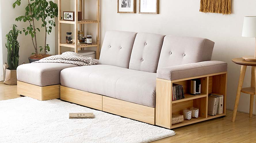 Storage Sofa Bed In Singapore
