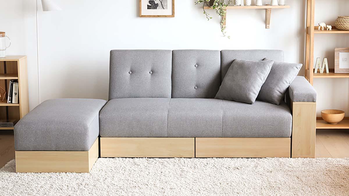 Gray Fabric x Natural