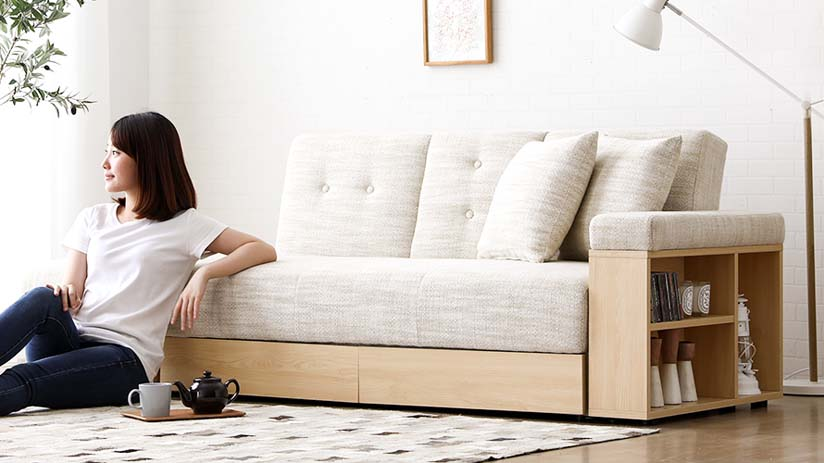 The Massimo Sofa Bed, now available in Singapore.