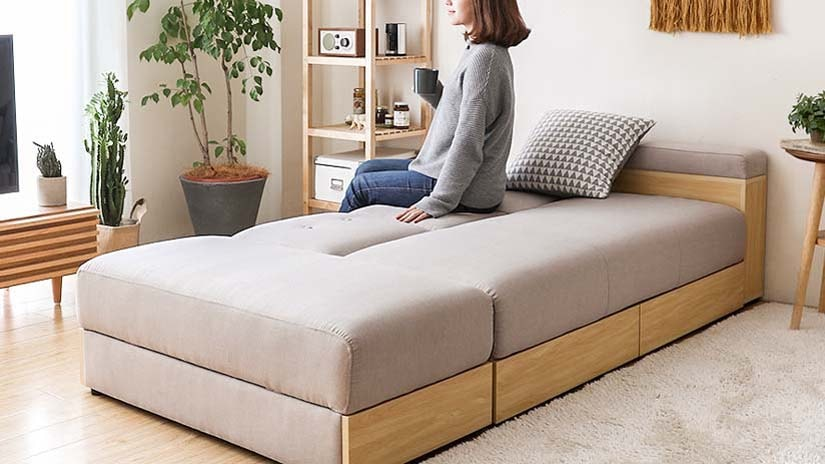 Sleep on the 2-Way Sofa