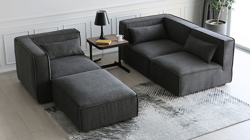 Make a statement with Dark Grey. A bold touch of modernity. Pair with light, pale colored décor for contrast. Creates a down-to earth atmosphere to spaces.
