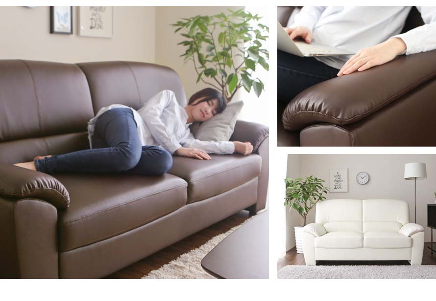 Momo Sofa feels great to lie on and rest your elbows on the armrest.