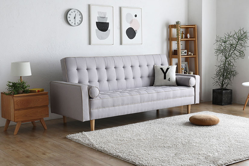 The Olivia Sofa Bed has a timeless design that elevates the beauty of its surrounding.