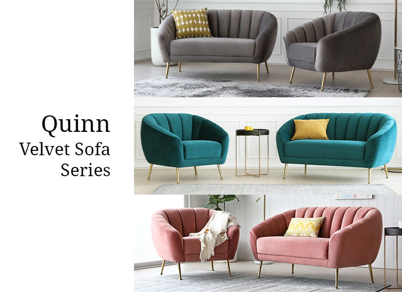 Also available as a 2-Seater Sofa. Complete your space with this series.