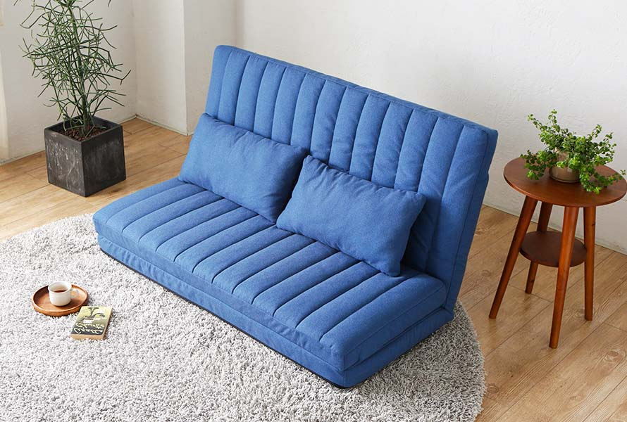 The Rocot Sofa Bed's backrest can be adjusted to 14 different positions.