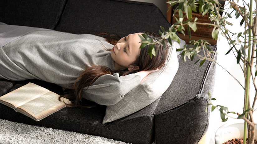 Snuggle onto the sofa bed for quality naps during lazy afternoons.