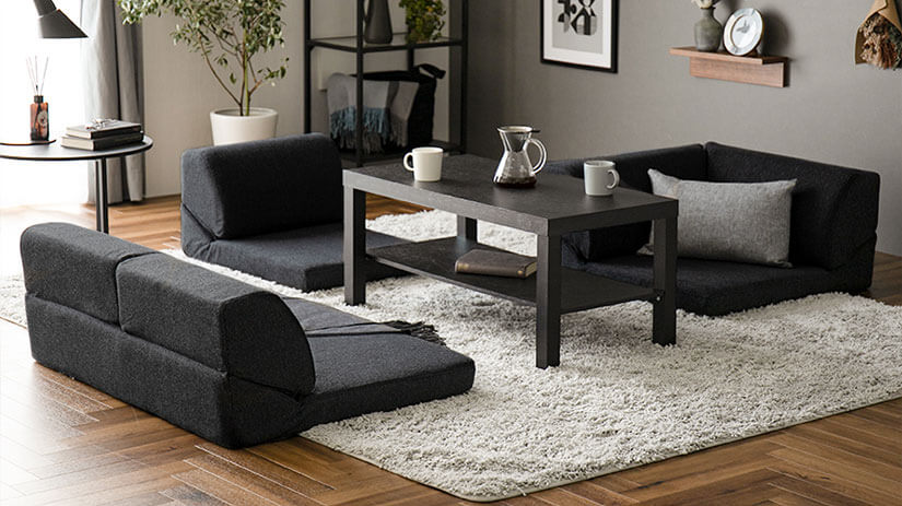 Perfect for hosting guests over, the sofa can be separated to allow face to face interactions.