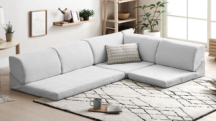 De-clutters your home and creates a spacious & clean looking space.