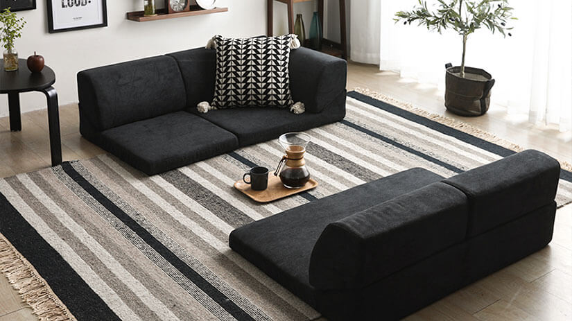 Make a statement with Smoky Black. A bold touch of modernity. Pair with light, pale colored décor for contrast. Creates a down-to earth atmosphere to spaces.