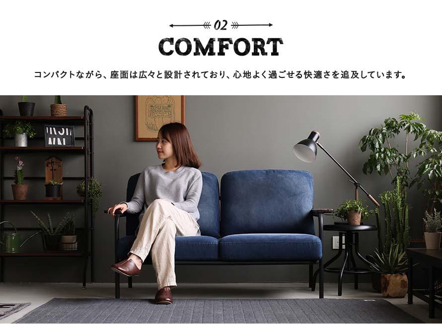 comfortable 2 seater loveseat