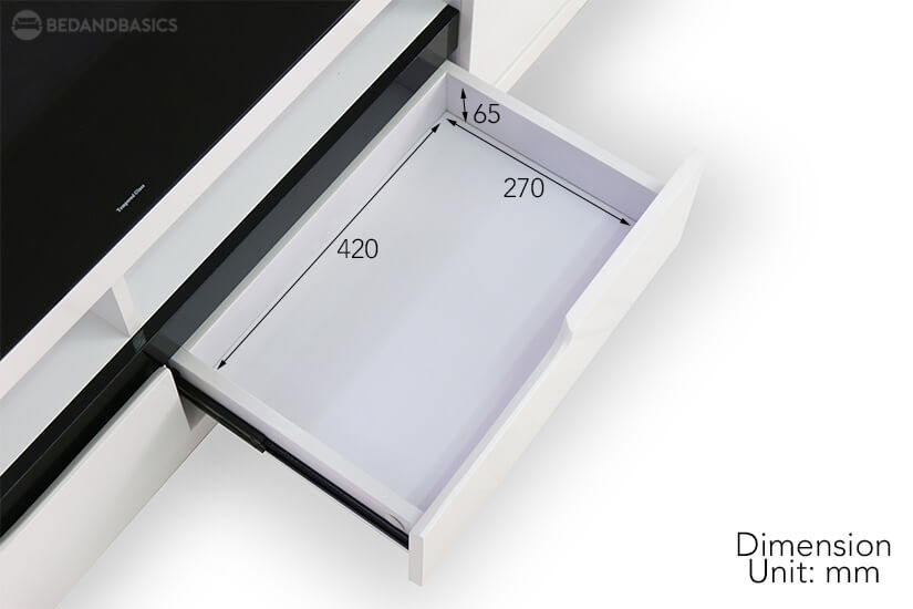 Avelino pull-out drawer Dimensions