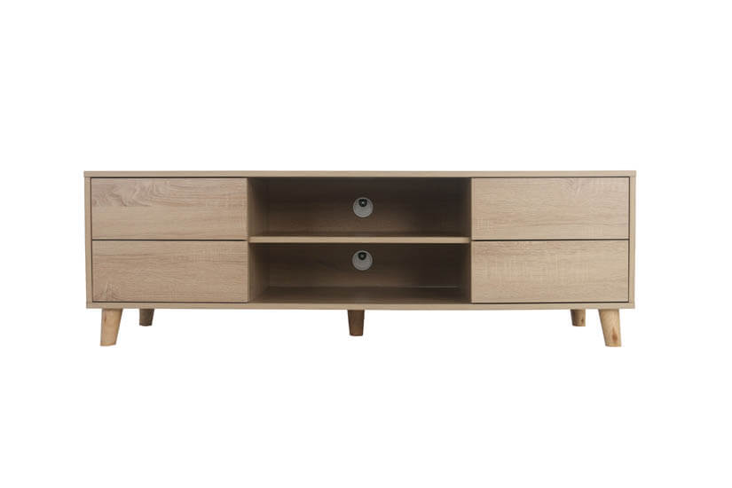 Front image of the tv stand.