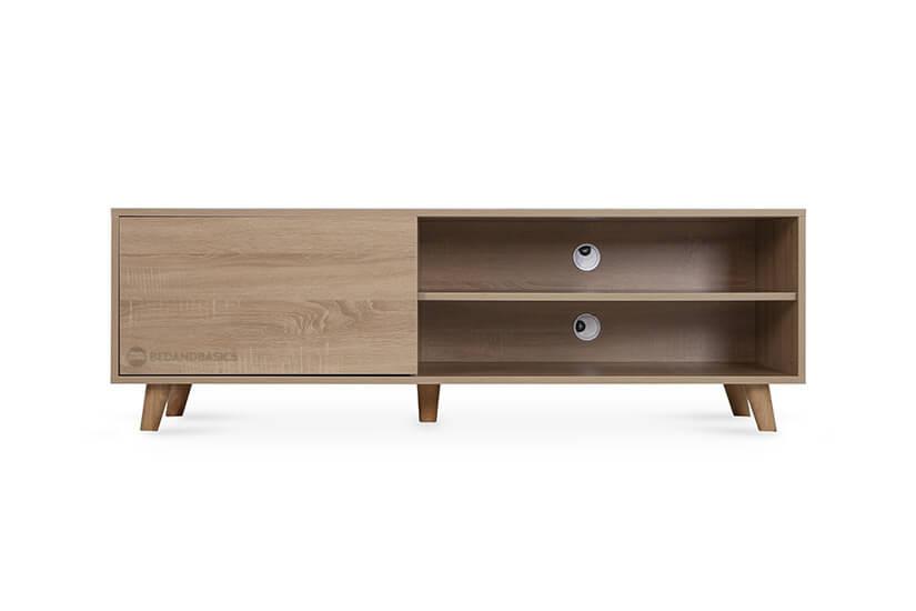 All-around wood swirls design. Matches any interior, especially Scandinavian homes.