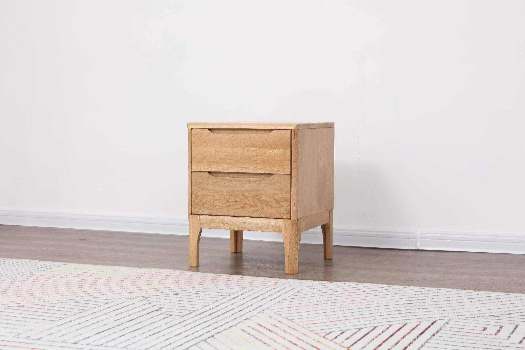 The Nara Side Table is designed to be clean, light and natural. Perfect for minimalists.