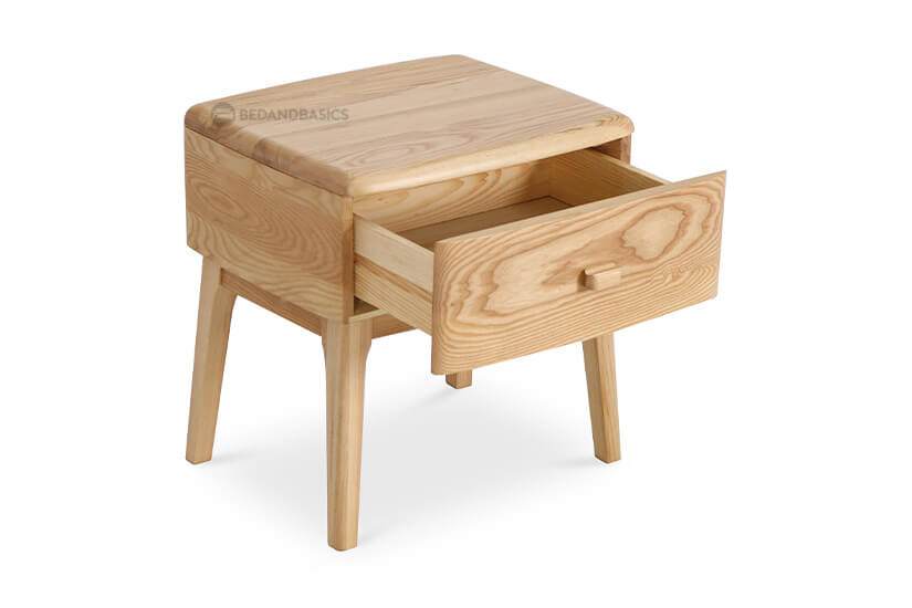 Comes with a pull-out drawer to keep essentials within reach.