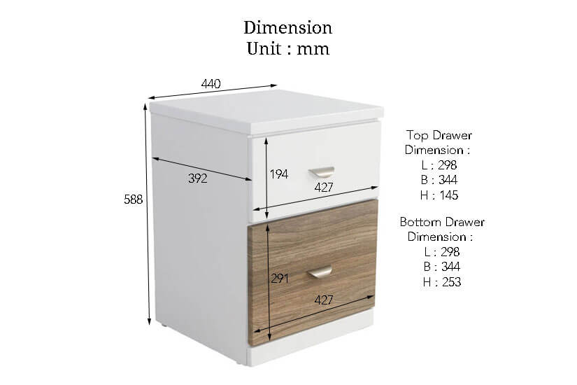 The Dimensions of the Espen Side table. Buy online the finest collection of living room furniture in SG.