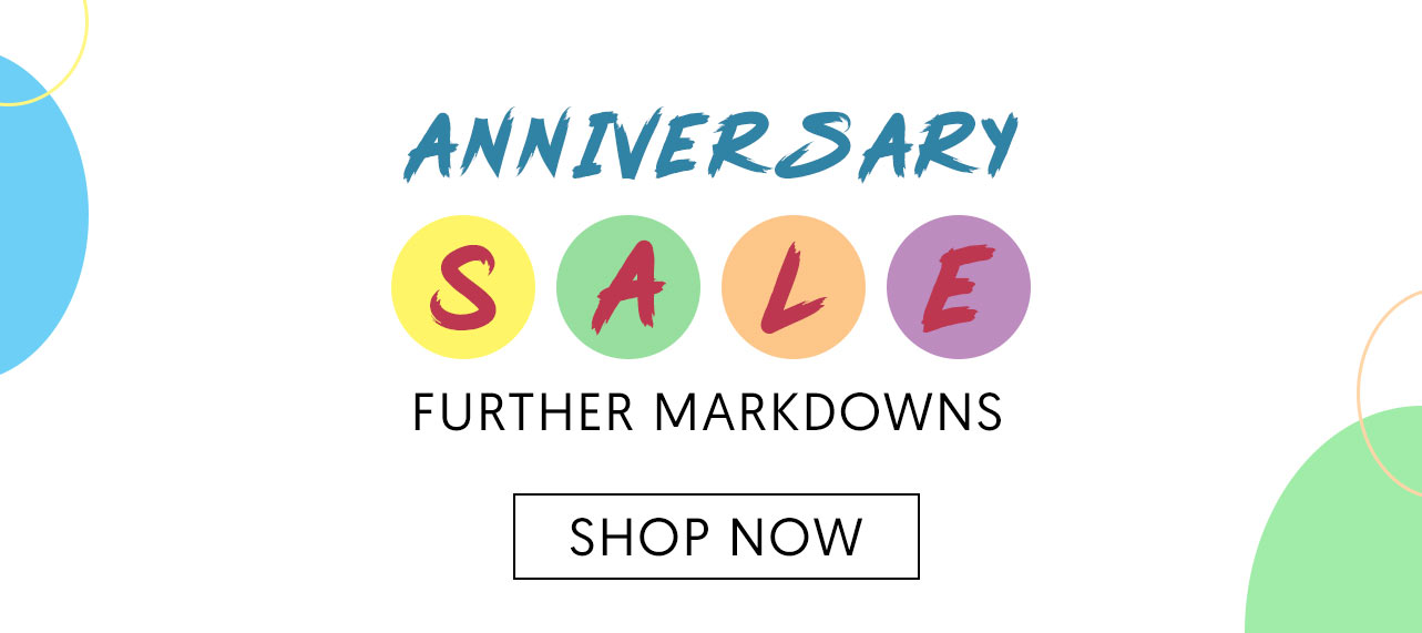 Anniversary Sale. Further Markdowns. Shop Now.