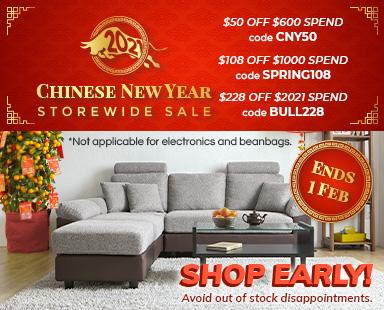 CNY Storewide Furniture Sale