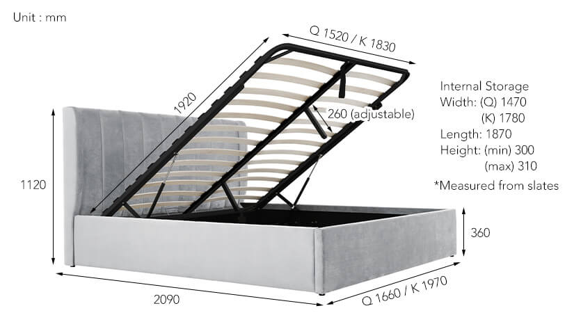Max load capacity -220kg