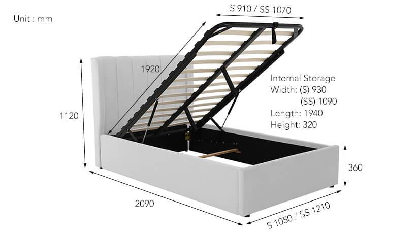 Max load capacity -120kg