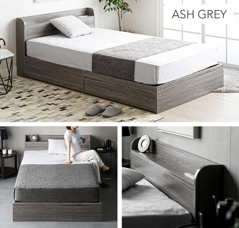 Available in 7 colours: Ash Grey.