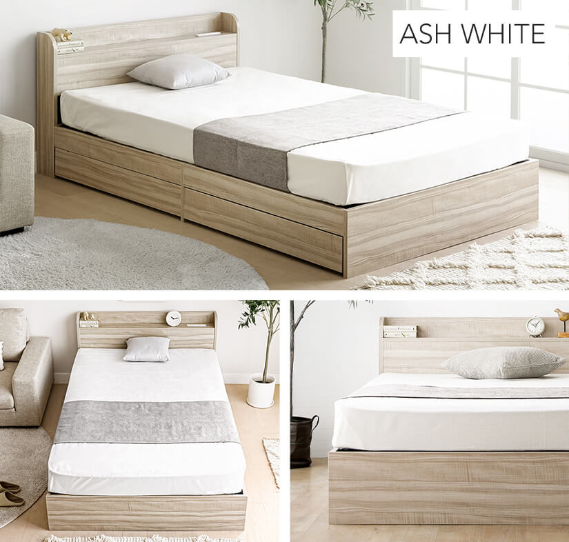 Available in 7 colours: Ash White.