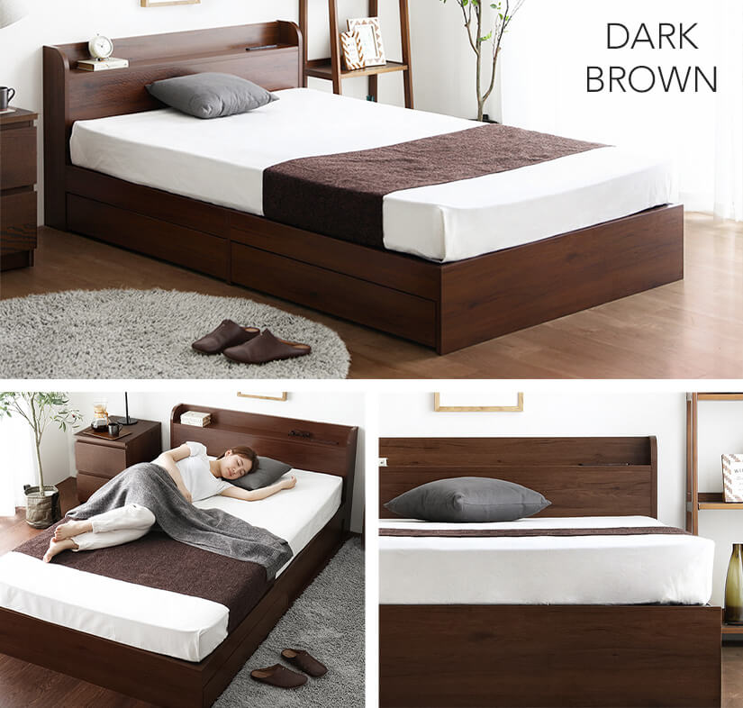 Available in 7 colours: Dark Brown.